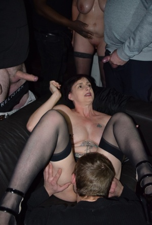 Mature orgy video gallery