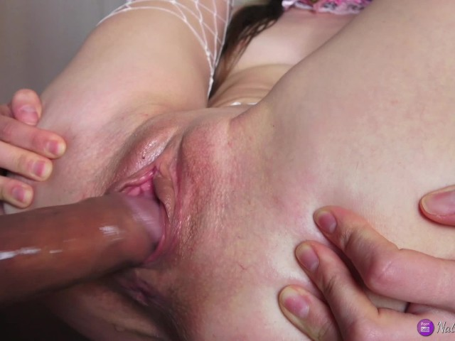 Shaved pussy hole