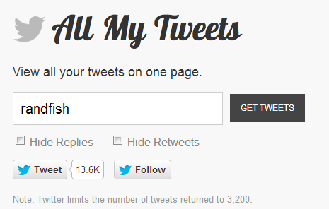 Get email address from twitter
