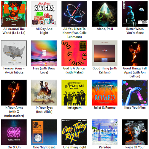 Most popular edm songs right now