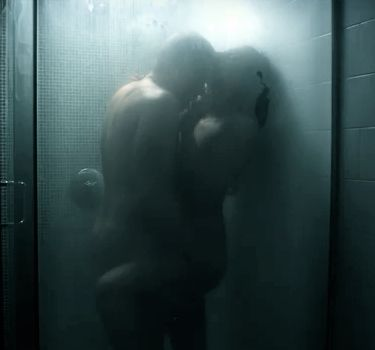 Steamy sex in the shower